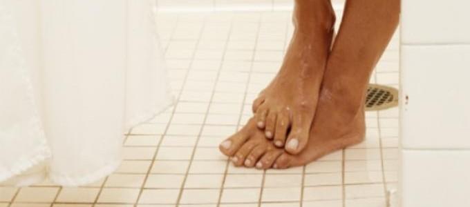 resbalón ducha
