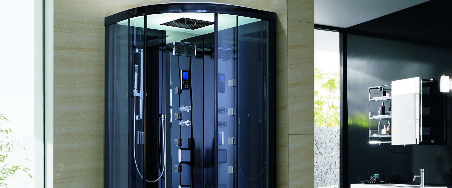 Ducha inteligente una tecnolog a innovadora ba era por ducha - Duchas cabinas ...