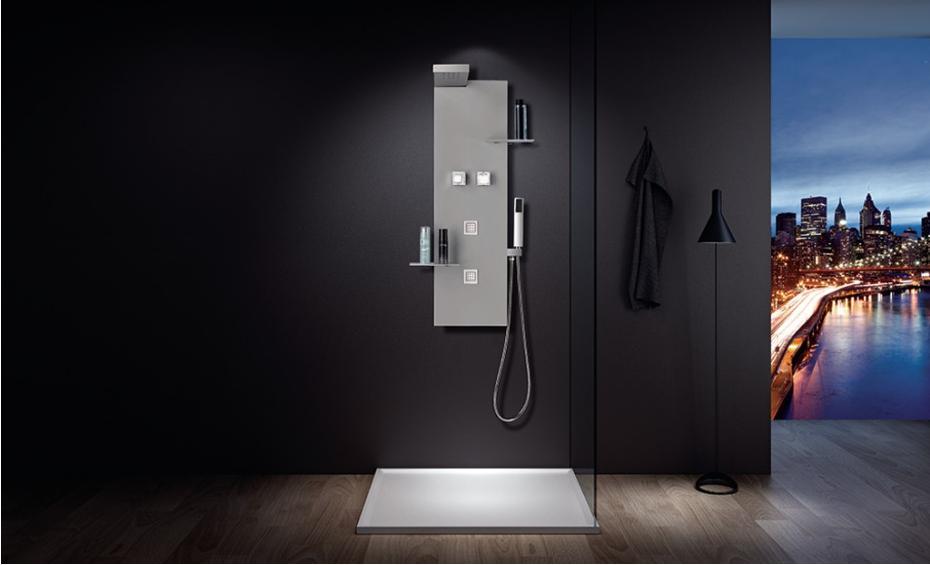 Ventajas de instalar una columna de ducha ba era por ducha for Instalar ducha