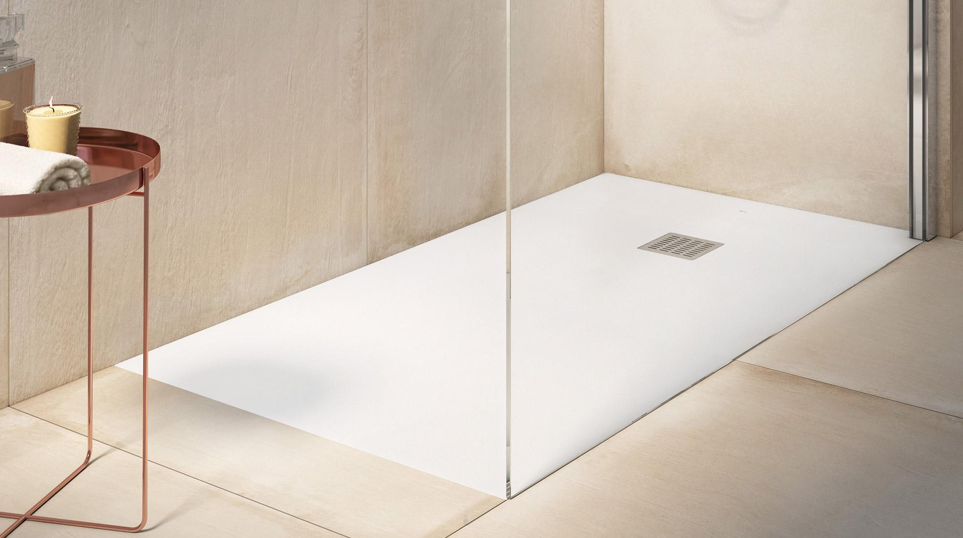 Si sufres fugas de agua en el ba o arr glalo con un plato - Plato de ducha pequeno ...