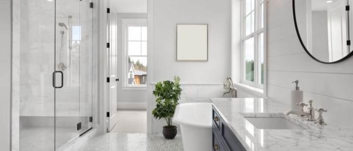 Tienes un cuarto de baño moderno