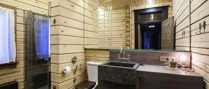Baños rústicos, un cuarto de baño al natural