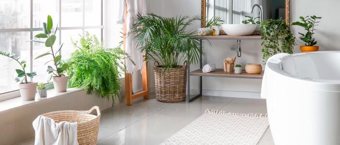 Baño en primavera, cómo adaptar el baño en la estación floral